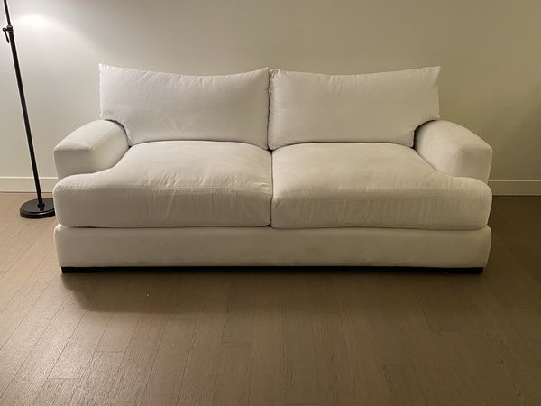 White Stella Sofa & Chair - Purchased from ZGallerie