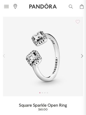 Authentic pandora ring for Sale in Palatine, IL