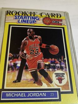Michael Jordan Starting Lineup Card 1989. for Sale in Berwyn,  IL