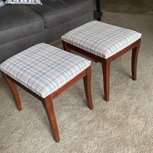 Pair Of Padded Stools for Sale in Lemoore, CA