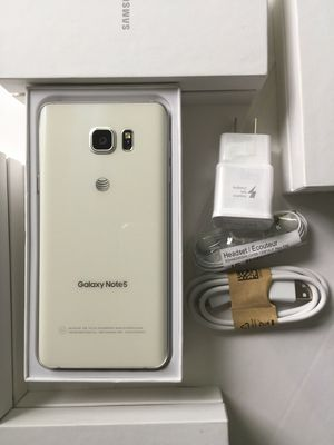 Samsung Galaxy Note 5 - just like new, factory unlocked, clean IMEI for Sale in Springfield, VA