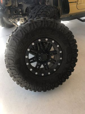 TIRES & WHEELS FOR JEEP WRANGLER for Sale in Dallas, TX