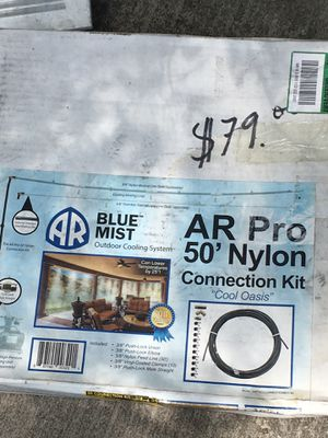 Blue mist AR Pro 50' Nylon connection kit for Sale in Fontana, CA