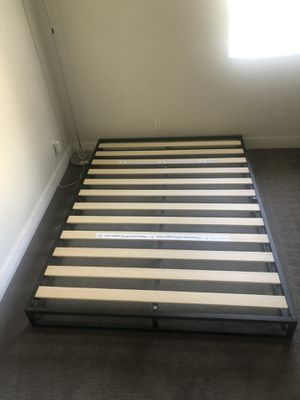 IKEA full size mattresses and bed frame for Sale in Los Angeles, CA