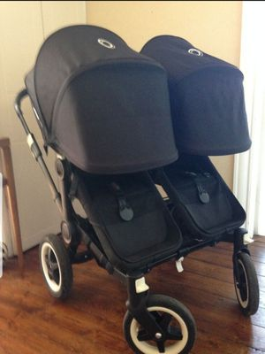 The amazing Bugaboo Donkey double to single reversible stroller. for Sale in Irvine, CA