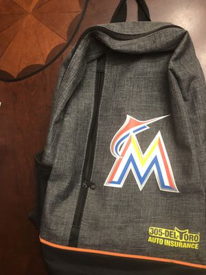 Marlins backpack for Sale in Miami, FL