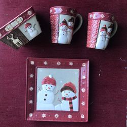 Saint Nicholas Square Christmas Set for Sale in Alexandria,  VA