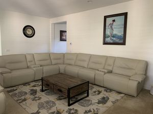 """Living Spaces- Marcus """"Oyster"""" 8 piece Sectional for Sale in Lake Forest, CA"""