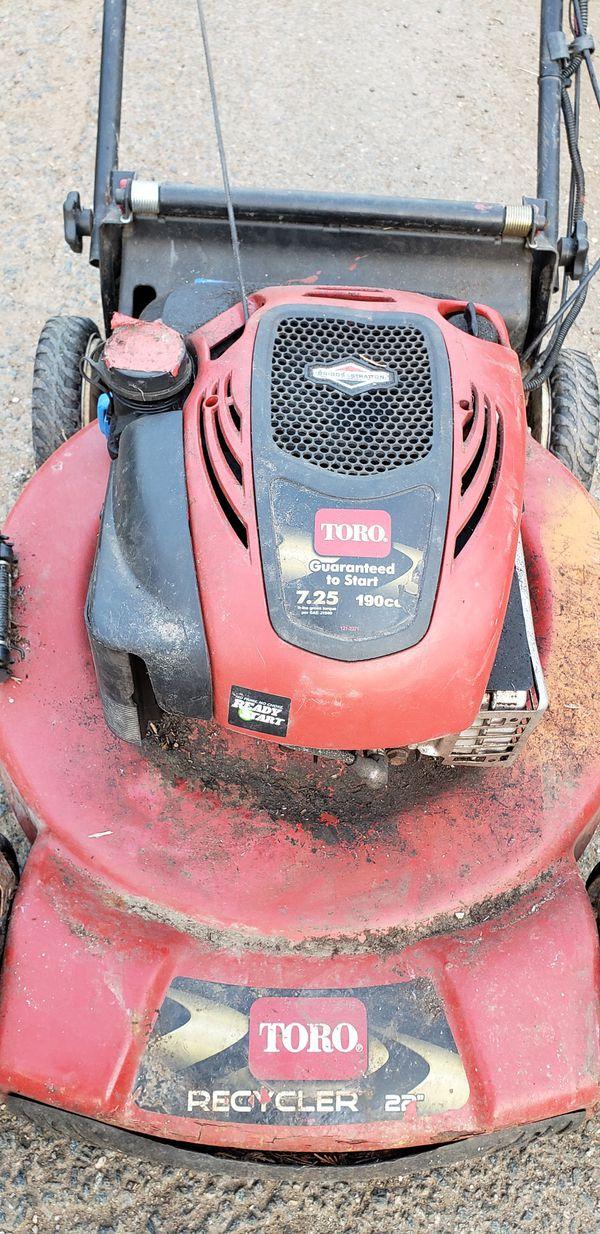 Toro 190cc Personal Pace Lawn Mower