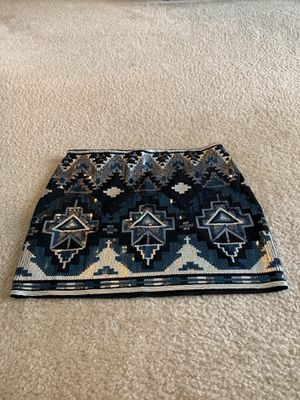 Express Sequin Skirt Size Small for Sale in Frederick, MD
