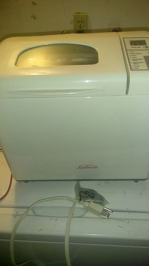 Sunbeam bread maker never been used for Sale in Stockton, CA