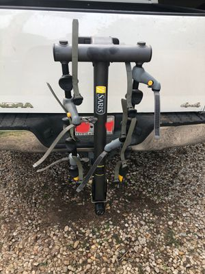Saris 4 Bike Hitch Rack Collapsable for Sale in Dallas, TX