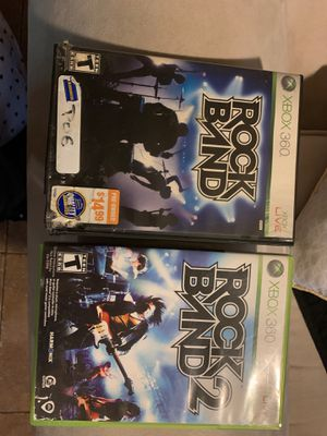 Rock Band 1 and 2 for Sale in Whiteriver, AZ