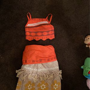 Moana Costume (size 5-6) for Sale in Claremont, CA