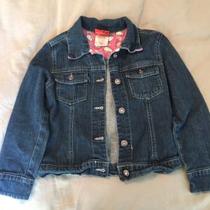 Girls Hello Kitty Jean Jacket Size 6 for Sale in Sacramento, CA