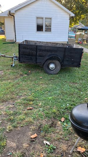 """Trailer 8 foot long 5'2"""" wide $250 or best offer for Sale in Indianapolis, IN"""