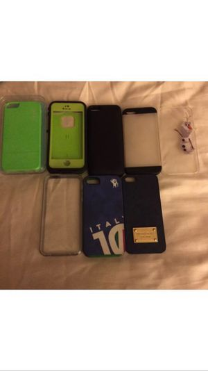 iPhone 5s cell phone case lot for Sale in San Diego, CA