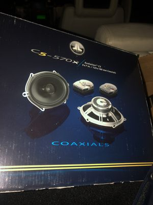 JL AUDIO C5-570x Speakers, BRAND NEW! 5x7inch w/tweeters. for Sale in Phoenix, AZ