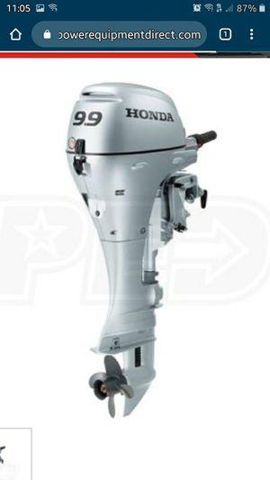 Lightly used Honda 9.9 HP 4-Stroke Outboard Motor for Sale in El Sobrante, CA