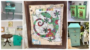 Vintage furnitire and fun home decor for Sale in Gaithersburg, MD