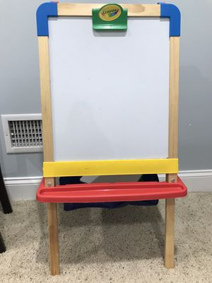 Crayola wooden easel magnetic 2 sided for Sale in Naperville, IL