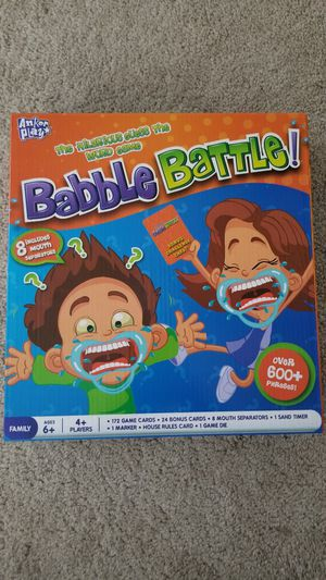 Babble battle game for Sale in Dublin, OH
