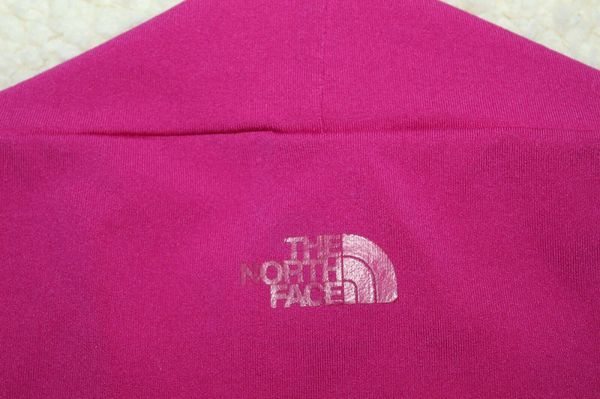 The North Face Athletic Top Hot Pink Sweetheart Neckline Small