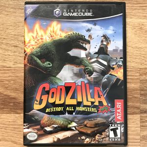 Godzilla: Destroy All Monsters Melee GameCube Game for Sale in Banning, CA