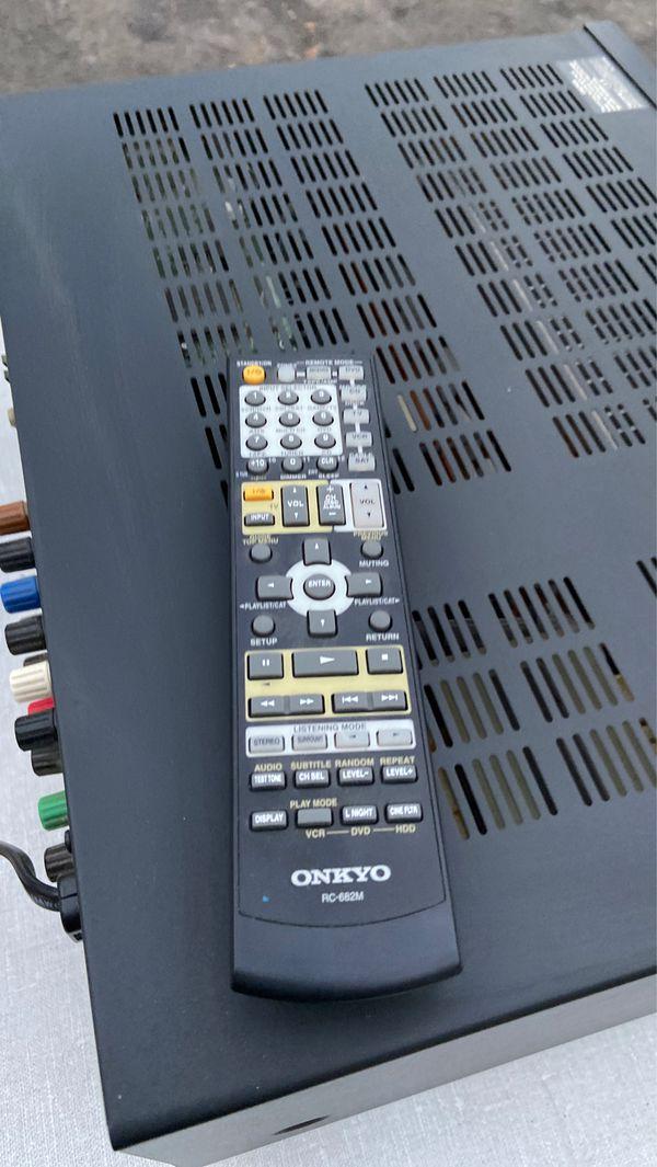 Onkyo TX-SR605 Stereo receiver