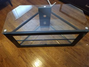 Black computer desk & TV Stand for Sale in East Cleveland, OH