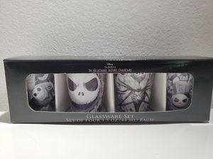 the nightmare before christmas shot glass set for Sale in Niles, IL