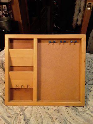 Mail/Key Holder w/ CorkBoard for Sale in Oak Grove, OR