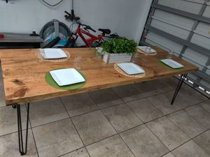 **Special***8ft heavy modern farmhouse table. **SPECIAL*** for Sale in Port St. Lucie, FL