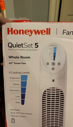 Honeywell fan Quiet set five for Sale in Louisville, KY