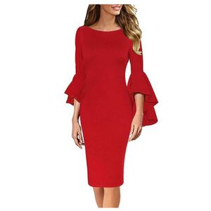 Haute Edition Women's Bell Sleeve Cocktail Party Dress Wine Medium for Sale in Los Angeles, CA