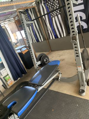 Nautilus Olympic bench and squat rack for Sale in Chula Vista, CA
