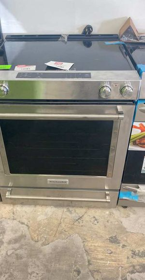 Kitchen aid KSEG700ESS electric stove ☺️☺️☺️ G 7 for Sale in Houston, TX