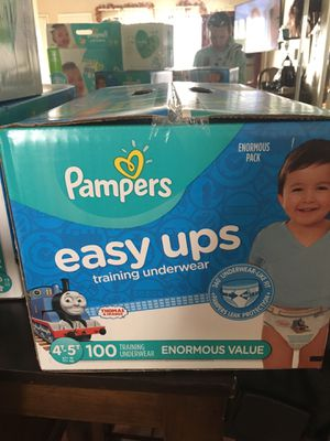 Pampers pull ups size 4/5 and 6 packs of wipes for Sale in Phoenix, AZ