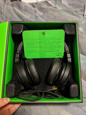 Razer Kraken 7.1 Chroma Surround Sound Headphones (Like new) for Sale in Starkville, MS