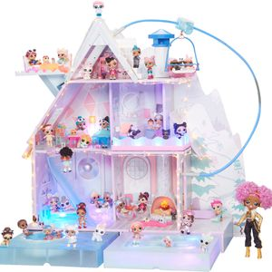 LOL Surprise winter disco chalet House With Accessories And Dolls for Sale in Claremont, CA