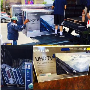 4K tv specials this weekend Tv outlet open to the public Samsung QLED 4K curved SUHD HDR quantum dot Sony LG OLED sharp Vizio 50 inch 55 inch or 60 for Sale in La Mirada, CA
