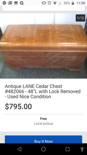 Lane cedar aroma tight chest for Sale in Abilene, TX