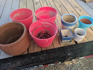 Planting garden pots for Sale in North Las Vegas, NV