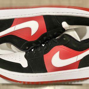 Jordan 1 Low Gym Red Black White Size 10.5 Men for Sale in Anaheim, CA
