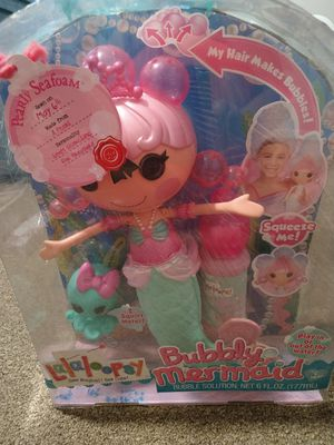 Rare 2004 Bubbly Mermaid lalaloopsy doll for Sale in Westgate, NY