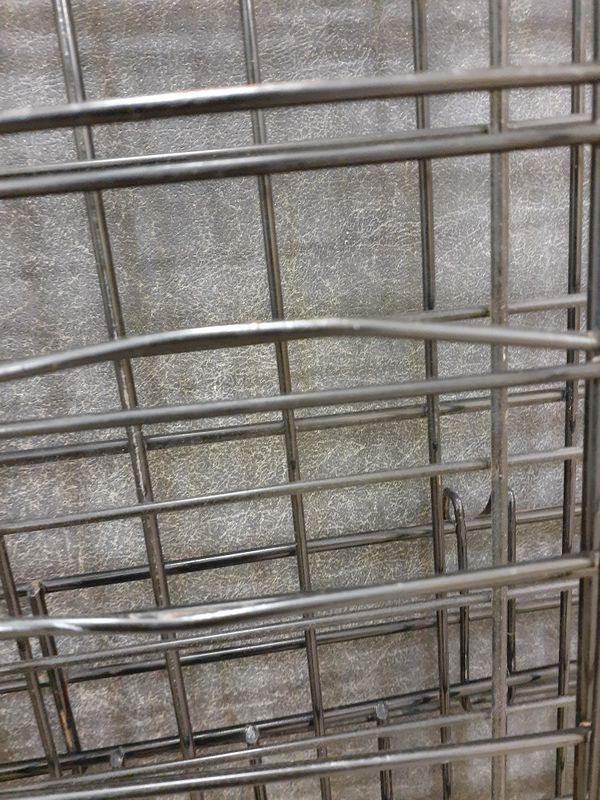 Used dog cage