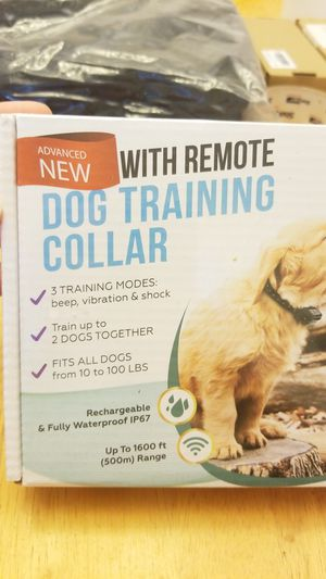 New Dog training collar for Sale in San Antonio, TX