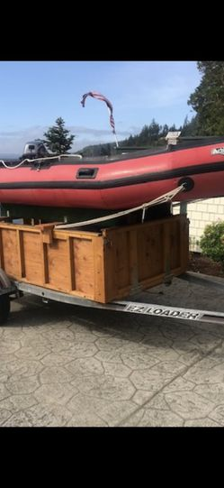 Achilles 12' Inflatable With 2009 8hp Yamaha for Sale in Lynnwood,  WA