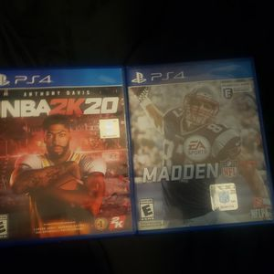 Madden 17 + NBA 2k20. for Sale in Bell, CA