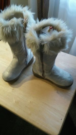 Girls gold boots size 10 for Sale in Silver Spring, MD